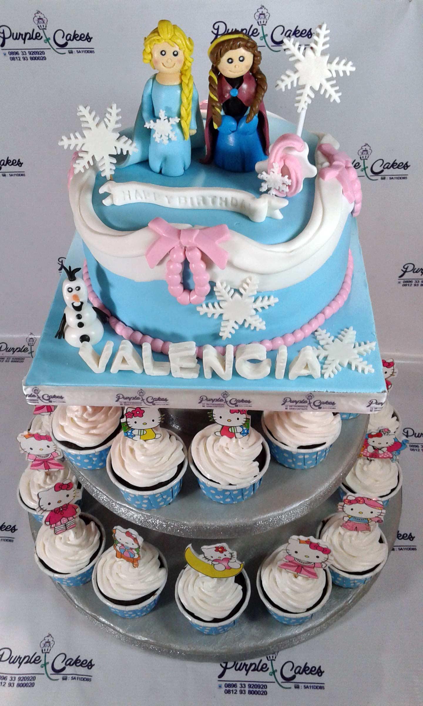 Cupcakes-Tower
