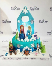 Frozen-cake-for-Raisha-